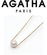 アガタ パリ アコヤ真珠ネックレス5,000 ポイント