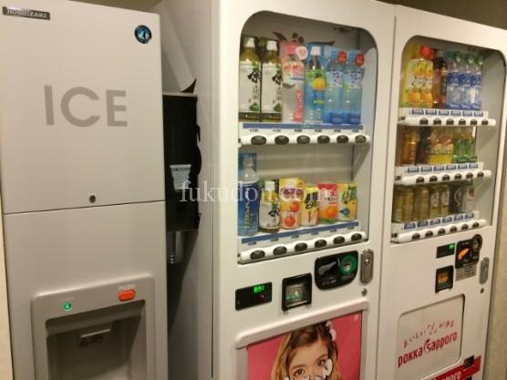 自販機と氷