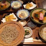 阪急夙川駅すぐ「馳走侘助」で極上の手打ちせいろそばを食す。