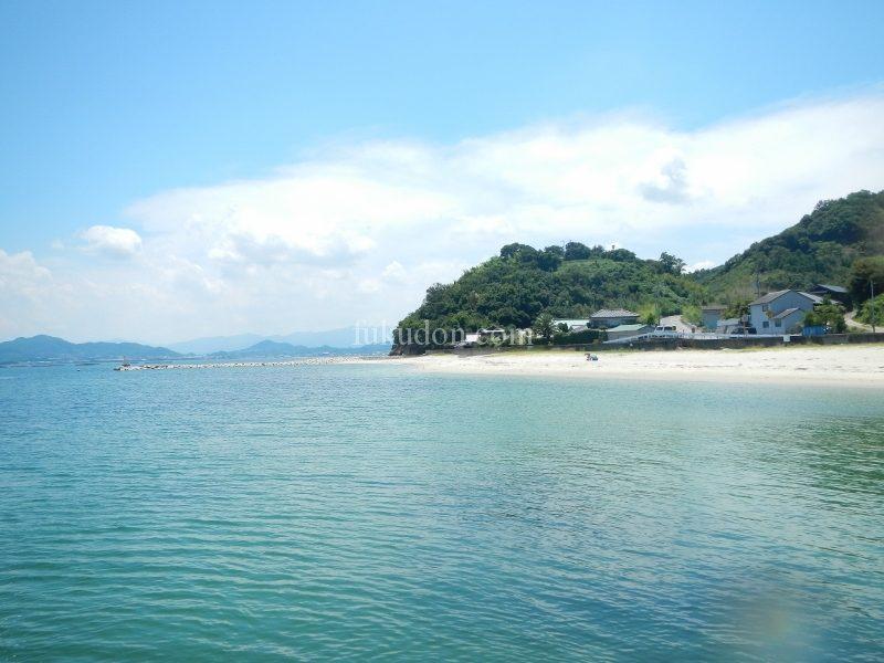 香川のビーチ】庵治町の海水浴場『高尻海水浴場』に遊びに来たよ ...