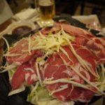 サッポロビール園で生まれて初めてのジンギスカンを食す。めちゃウマ(*^ω^*)