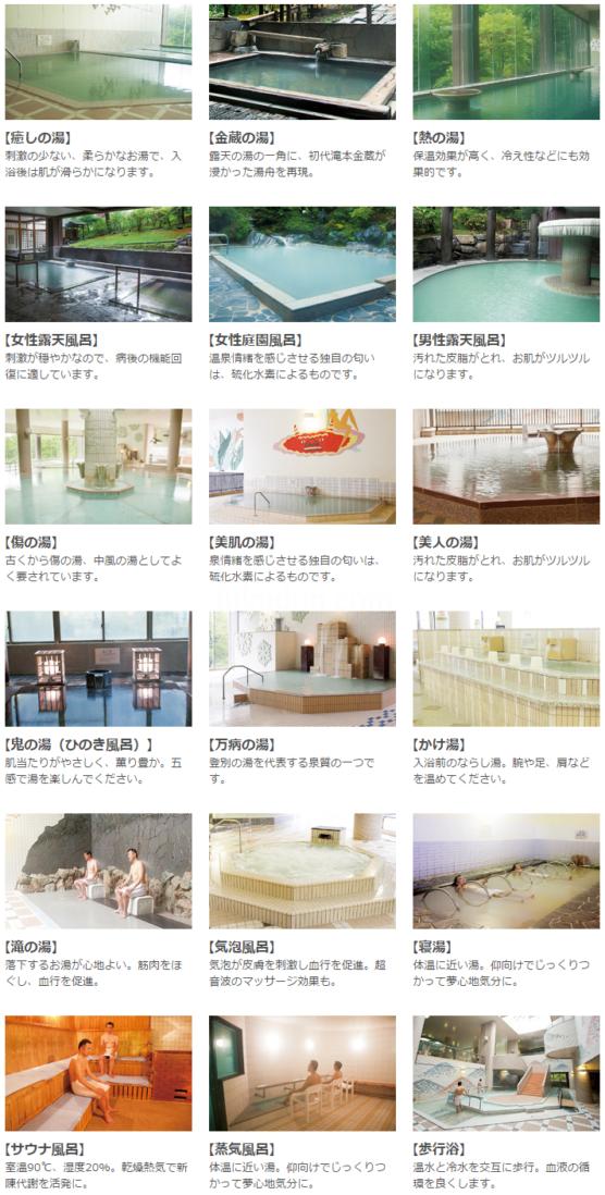 第一滝本館の湯船35