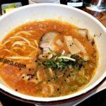 高松のトマトラーメン専門店「拉麺ひらり」でトマチリラーメンを食す